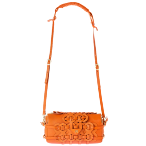 Clutch bag OTTO orange by Conceria