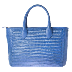 Tote bag TRECCIA AZUL by Conceria
