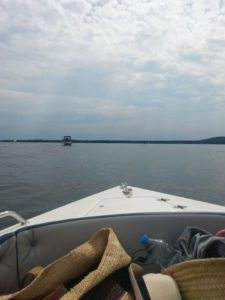 Motor Boot Cruising Müggelsee