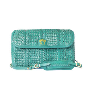 clutch bag treccia by conceria