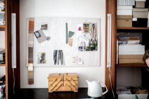 Alex Bender workplace mood board picture by Jules Villbrandt