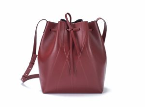Bucketbag Bordeaux by Alesya Orlova