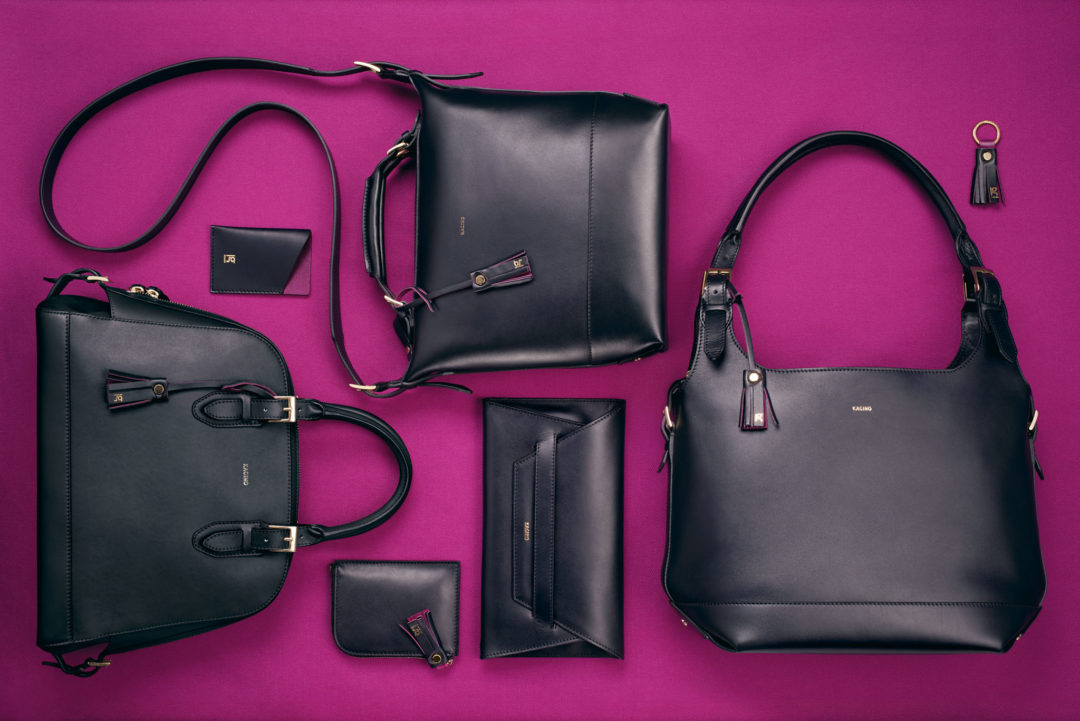 Kagino classical handbags: Current handbag collection black