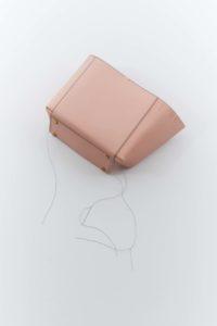 Stiebich & Rieth hand stitching a handbag