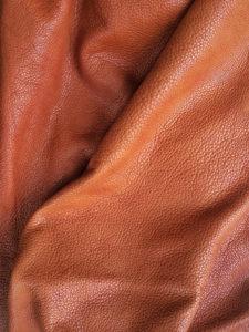 Soft cognac Rhabarberleder® by Deepmello
