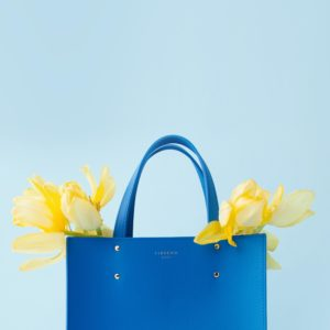 Fibreno Leather Goods: Fibreno Bag blue