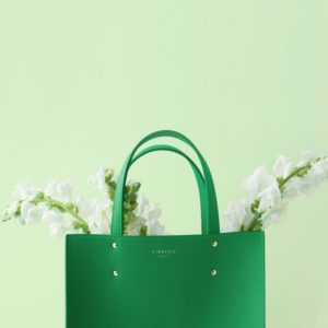 Fibreno Leather Goods: Fibreno Bag green