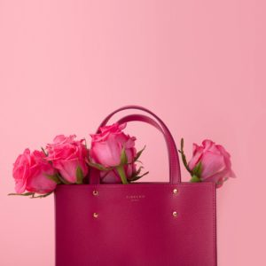 Fibreno Leather Goods: Fibreno Bag pink