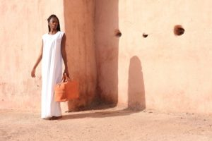 Weekender Bags - nasire W349 red ochre
