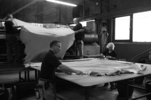 Leather-tanning_Folding leather
