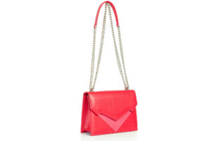 Belloni de SIlva: Pragmantica leather handbag red