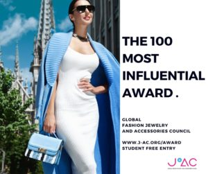 Global Fashion Jewelry and Accessories Council - The hundred most influential award