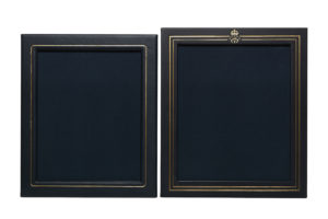fine leather goods_Leather frames for the Swedish royal court_Böle Tannery
