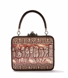 vintage bags_Embossed leather handbag, Germany 1880-1900_Tassenmuseum Hendrikje
