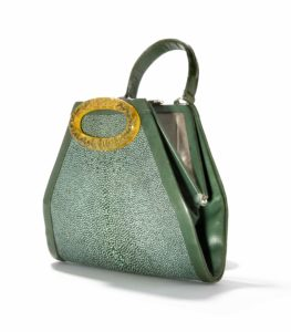 vintage bags_Stingray handbag with plastic decoration, France 1930s_Tassenmuseum Hendrikje