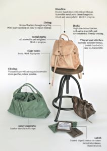 sustainable leather bags_designed by Luna Mazzolini