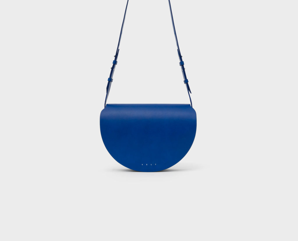 Ladies' Bags_Half Moon Bag VELT blue