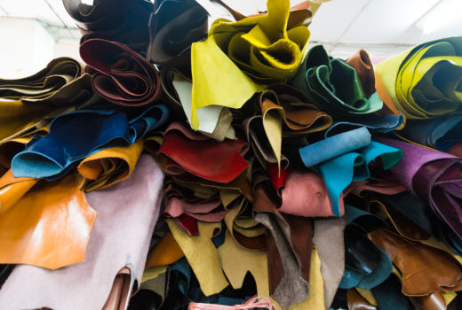 vegetable tanned leathers_ in different colors