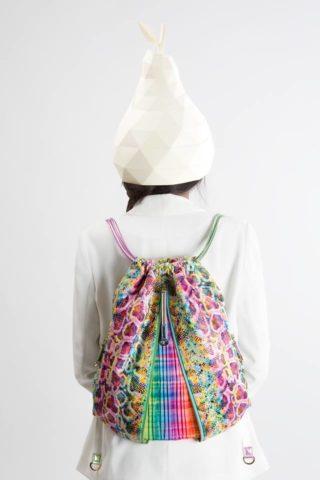 Vegan leather bags: FruitenVeg Backpack varicolored