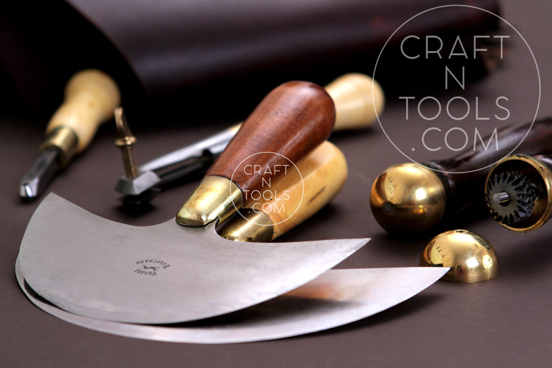 Leather Tools: Round Knifes for cutting leather by Vergez Blanchard sold by CraftnTools