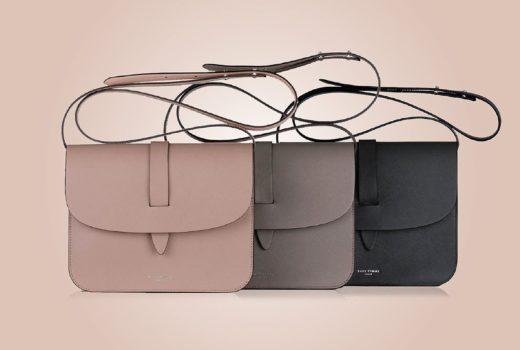 Sage Femme handbags: Crossbody Bags beige, grey, anthracite