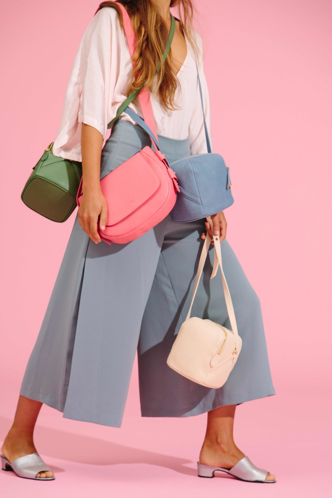 Manufacture Pascal Leather bags - different models