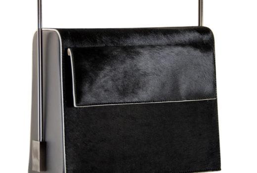 Lautem handmade handbags_May funny Valentine pure black