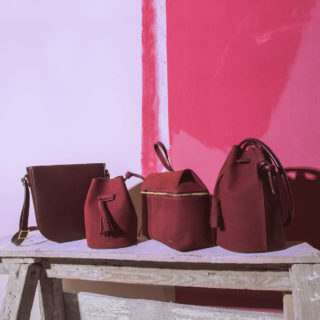 leather bags_RARA ATELIER_Handbags red