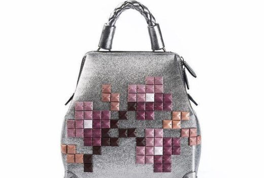 Insta-bag oft the week: Panaskin Backpack silver
